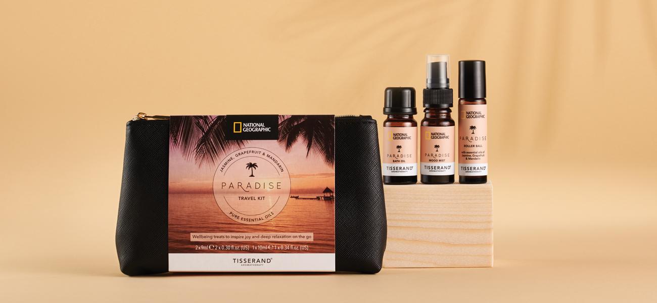 Tisserand Aromatherapy National Geographic Travel Kits