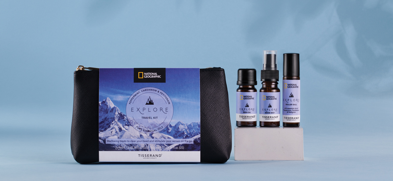 Tisserand Aromatherapy National Geographic Travel Kits