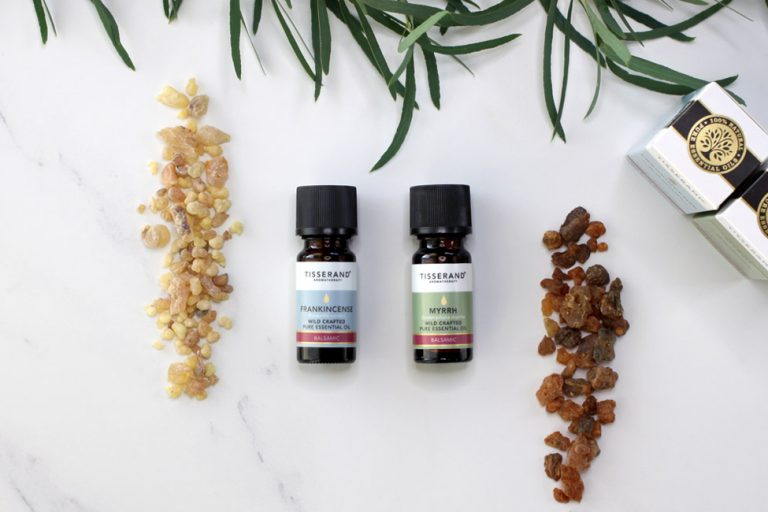 Tisserand Aromatherapy Frankincense and Myrrh Essential Oils