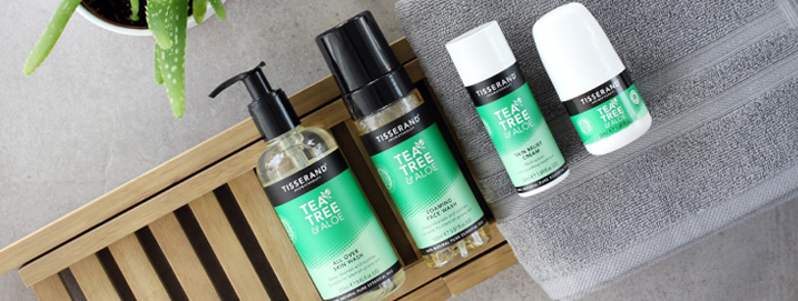 tea tree and aloe