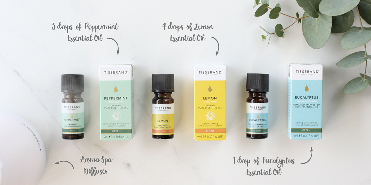 Diffuser blends to help you focus at home