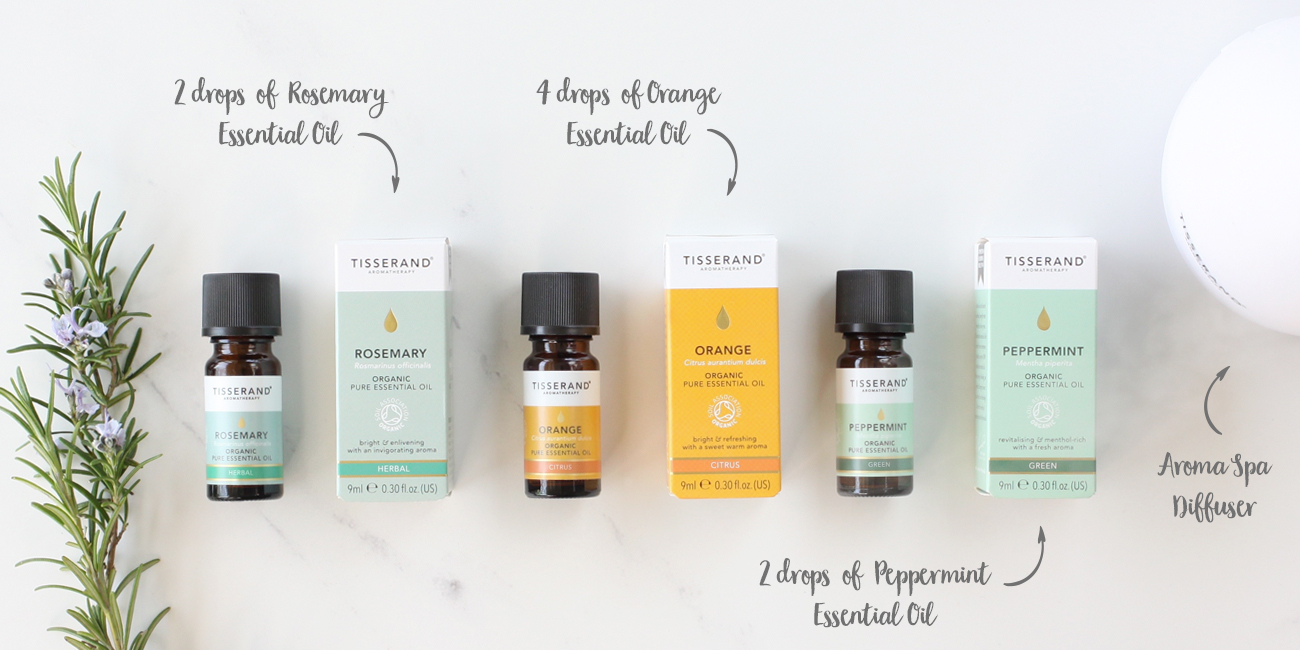 Diffuser blends to help focus