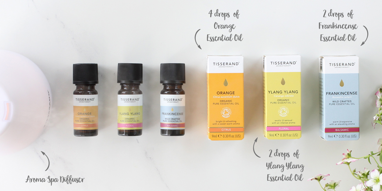 Aroma Spa Diffuser Blends To Create Calm