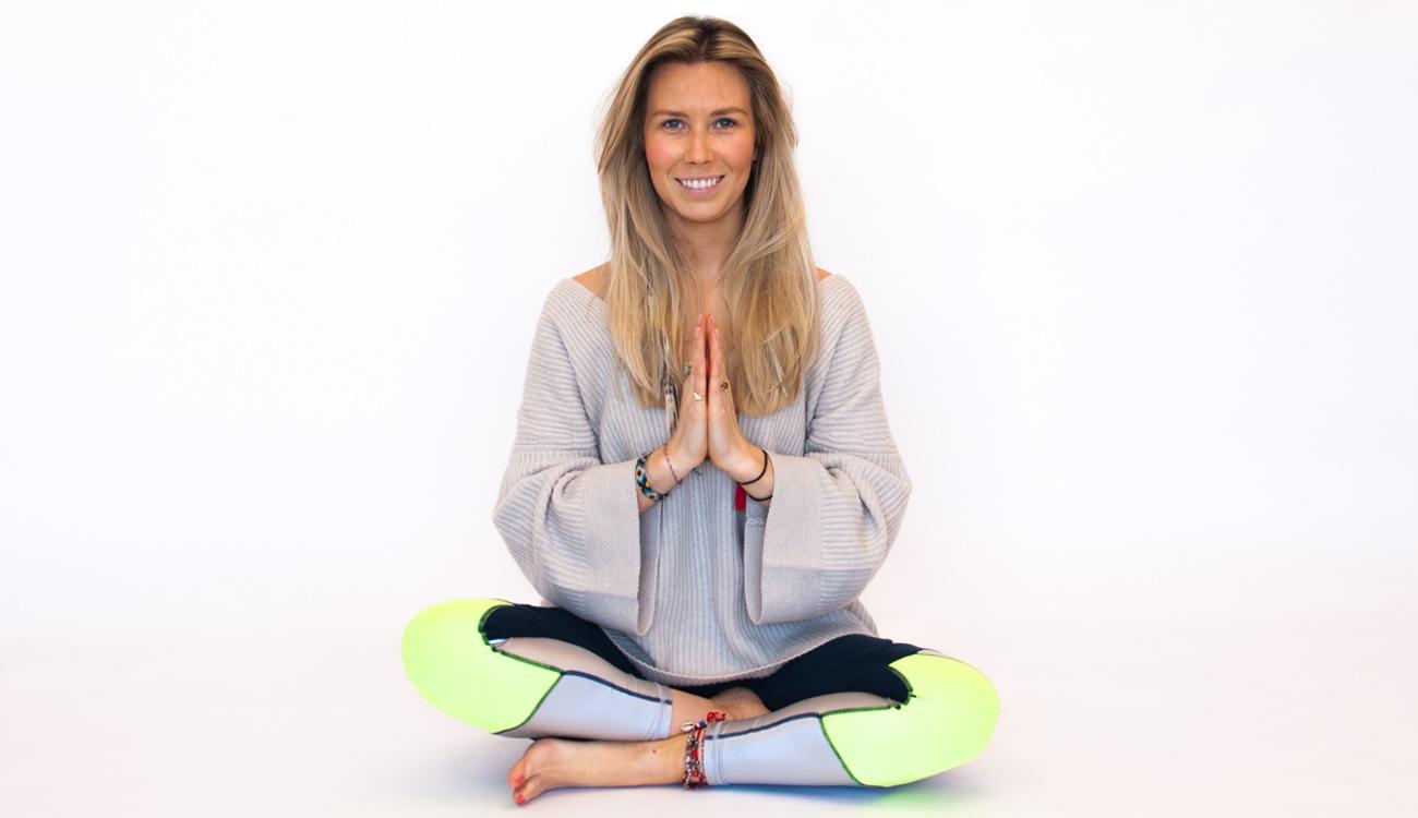 Yoga to keep positive with Sarah Eckersley