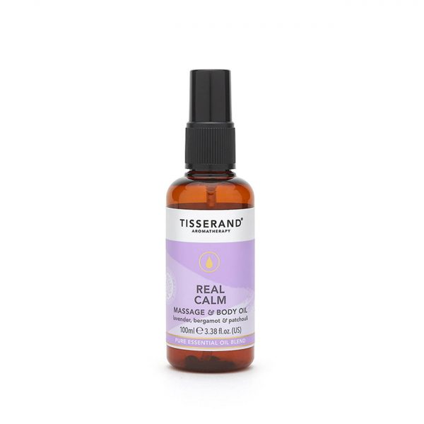 Tisserand Aromatherapy Real Calm Massage and Body Oil