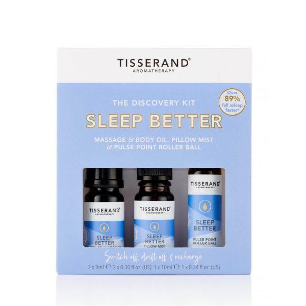 Tisserand Discovery Kit Sleep Better Front