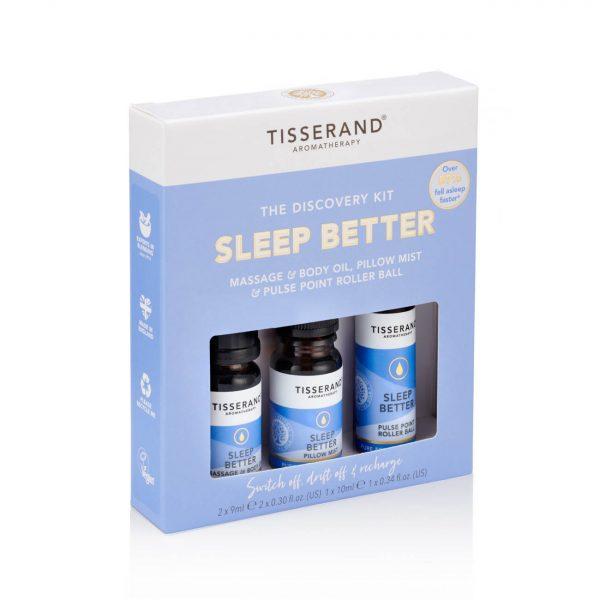 Tisserand Discovery Kit Sleep Better Left