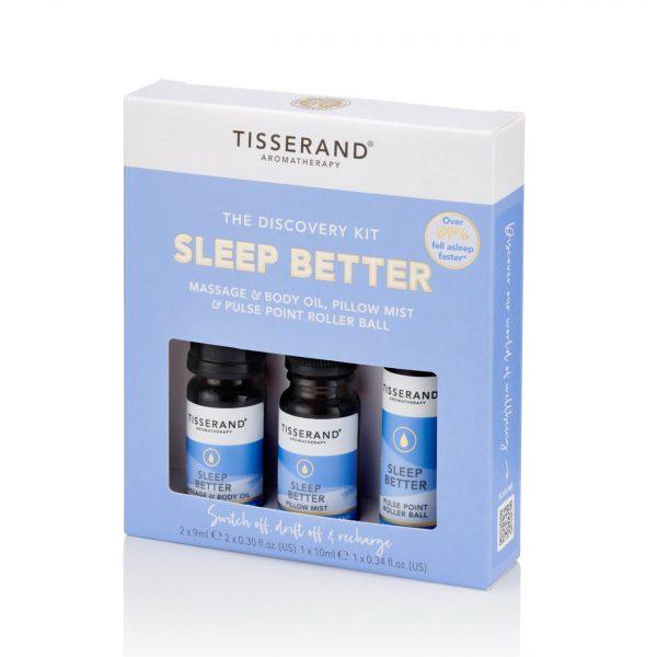 Tisserand Discovery Kit Sleep Better Right