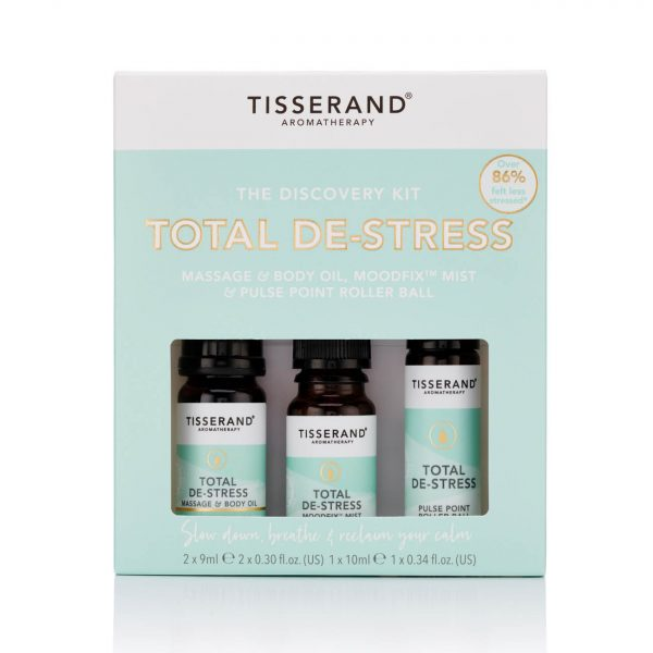 Tisserand Discovery Kit Total De-Stress Front