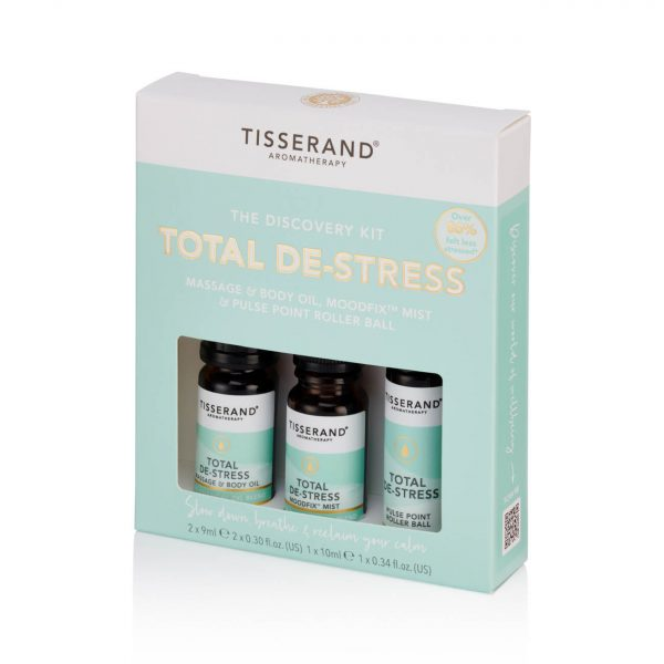 Tisserand Discovery Kit Total De-Stress Left