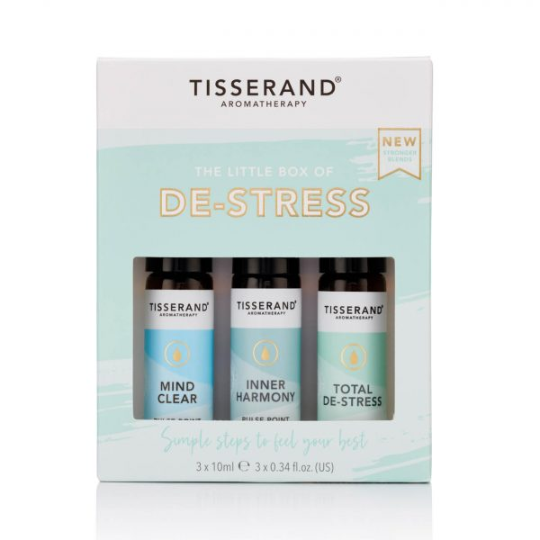 Tisserand Aromatherapy | The Little Box of De-Stress Front
