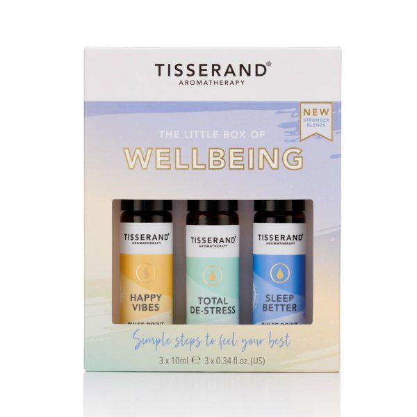 Tisserand Little Box of Wellbeing Front