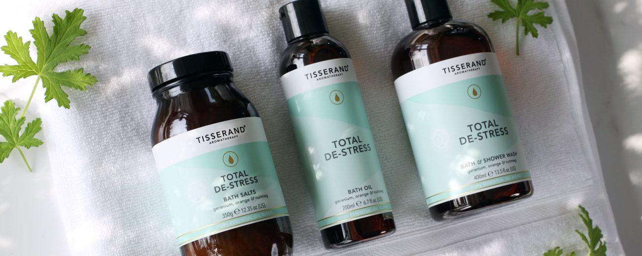 Tisserand Aromatherapy Total De-Stress collection