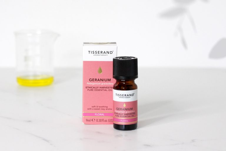 What is Geranium essential oil used for?
