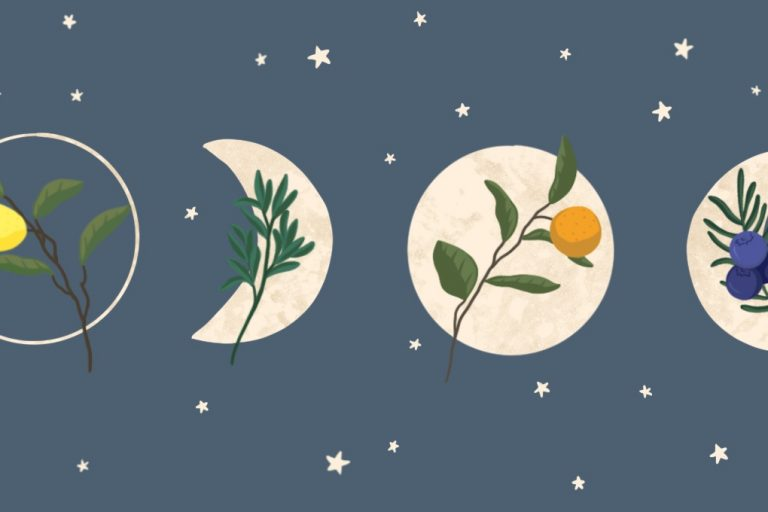 Aromatherapy for working with the Luna phases