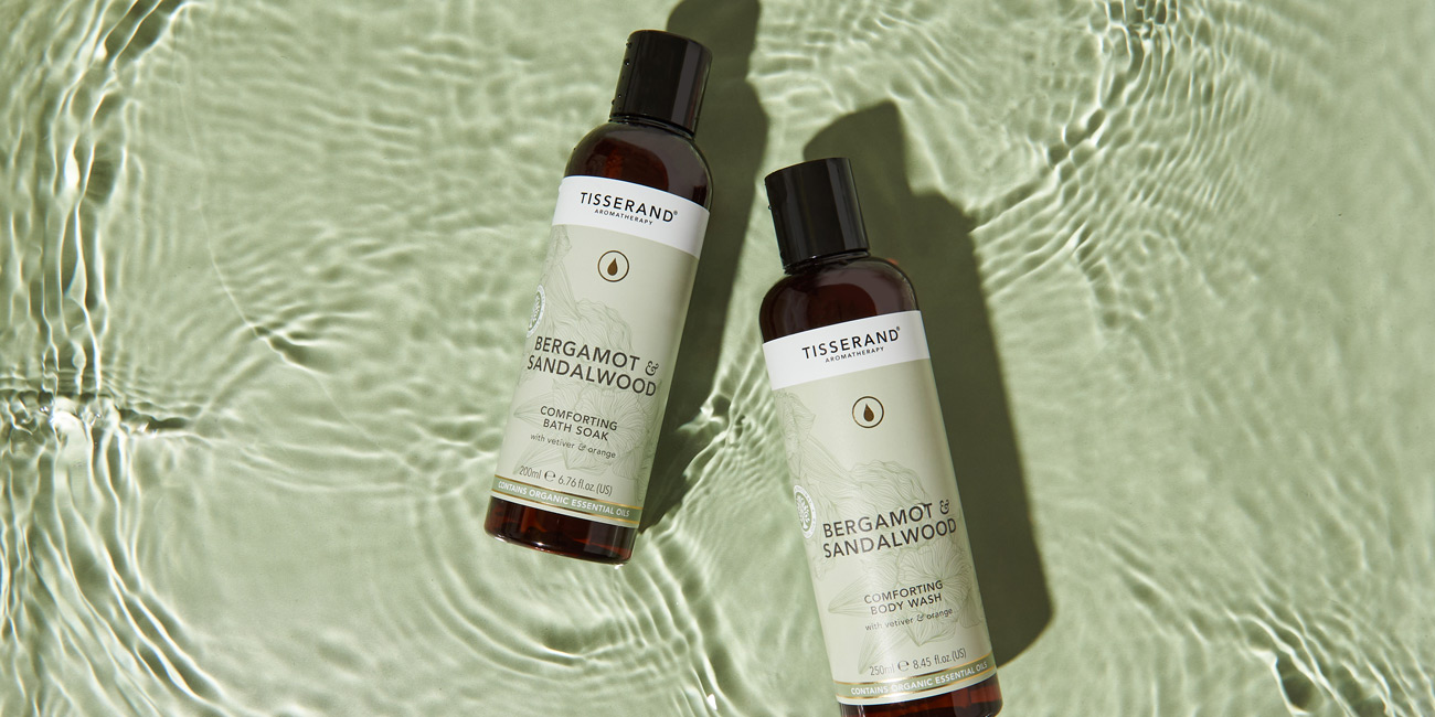 Nature's Spa collection: Bergamot and Sandalwood